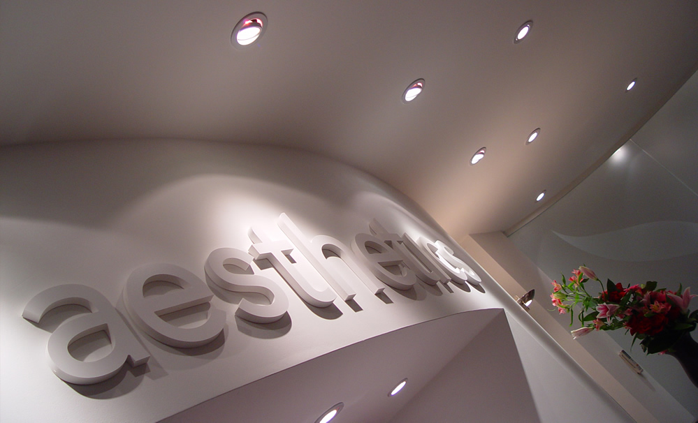 Aesthetics Signage by design4dentists